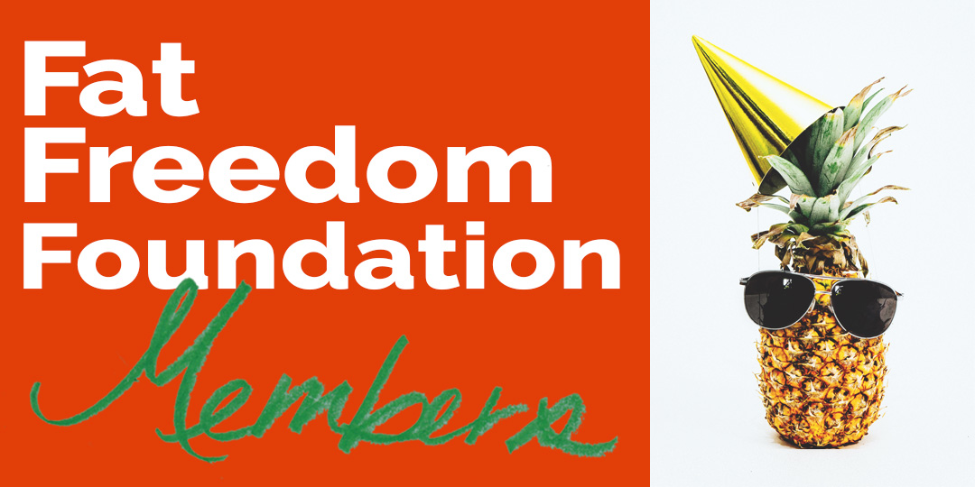 Fat Freedom Foundation Members Header